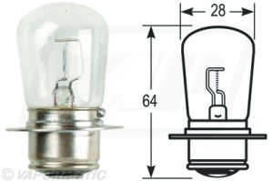 Accessory tractor part VLC0162 Bulb