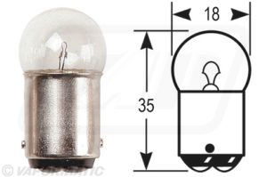 Accessory tractor part VLC0209 Bulb