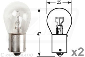 Accessory tractor part VLC0382 Bulb