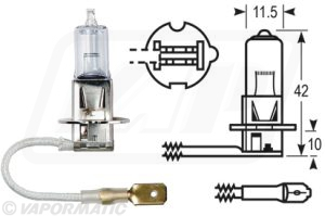 Accessory tractor part VLC0460 Bulb