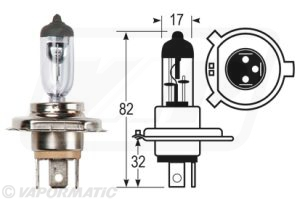 Accessory tractor part VLC0472 Bulb