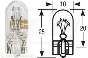 Accessory tractor part VLC0507 Bulb