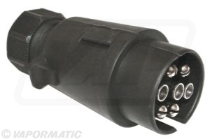 Accessory tractor part VLC2101 Plastic 7 pin plug