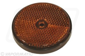 Accessory tractor part VLC2146 Round orange reflector