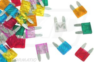 Accessory tractor part VLC2248 Mini blade fuse kit (x5)