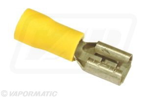 Accessory tractor part VLC2412 Yellow lucar female terminal