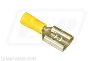 Accessory tractor part VLC2433 Yellow lucar female terminal