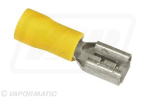 Accessory tractor part VLC2442 Yellow lucar female terminal (x5)