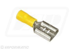 Accessory tractor part VLC2463 Yellow lucar female terminal (x5)