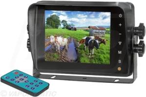 Wired CabCAM camera monitor