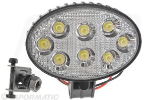 Accessory tractor part VLC6087 Oval LED work lamp