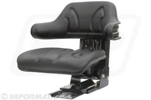 Accessory tractor part VLD1680 Black wraparound seat