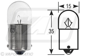 Accessory tractor part VLX0207 Side/Tail bulb