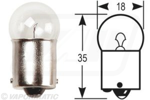 Accessory tractor part VLX0248 Side/Tail bulb