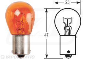 Accessory tractor part VLX0581 Indicator bulb