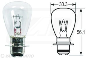 Accessory tractor part VLX7027 Headlamp bulb