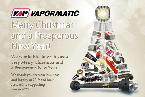 Vapormatic 2019 Christmas Xmas opening hours